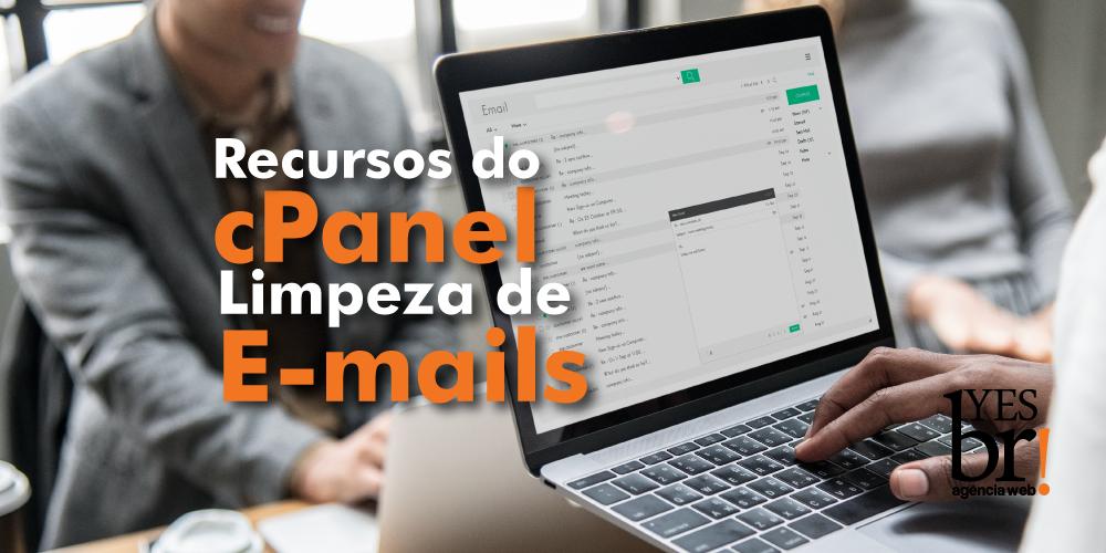 Limpar caixa de e-mail pelo cPanel