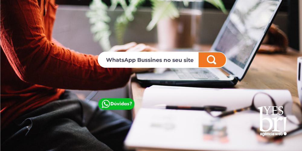 Como integrar o WhatsApp Business em meu site