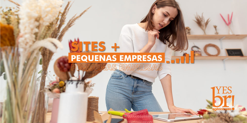 Importância do site para pequenas empresas