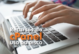 Checar uso do disco no cPanel