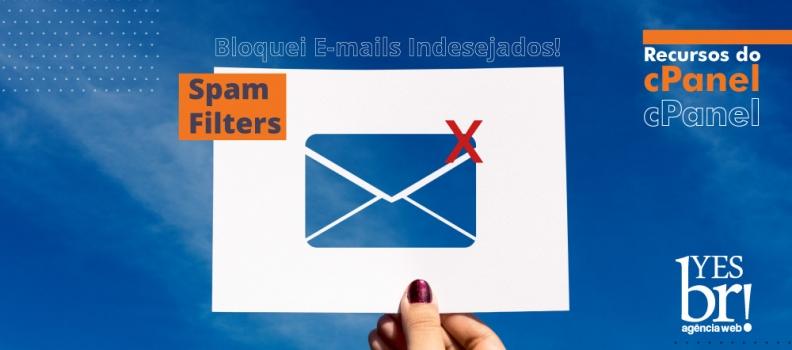 """Como configurar """"Spam Filters"""" para eliminar Spams do e-mail"""
