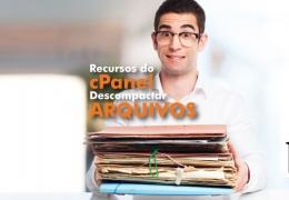 Descompactar arquivos compactados no cPanel