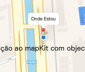 Introdução a mapKit com objective-C