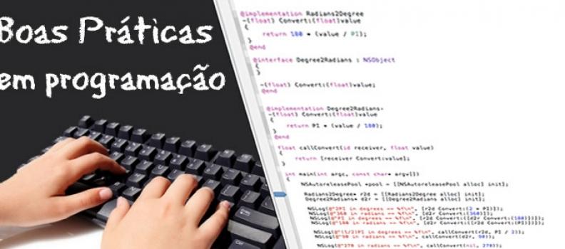 Boas praticas de programação