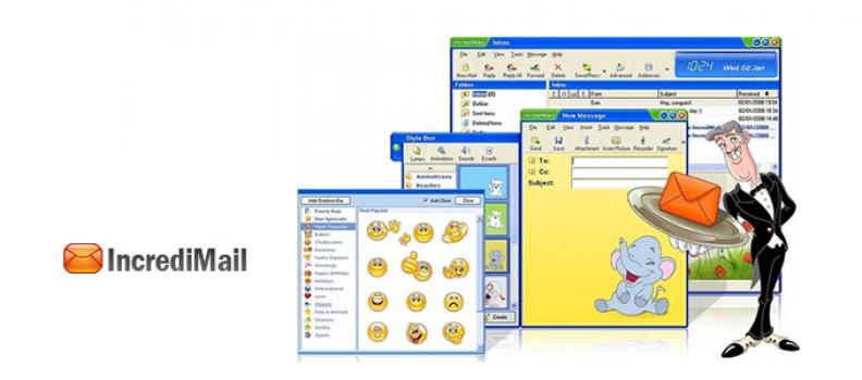 Como configurar meu email no IncrediMail com a opção IMAP