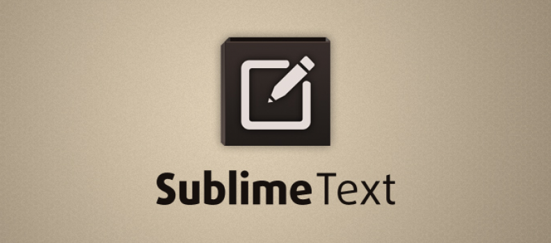 Configurando o Sublime Text 2