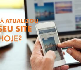 É importante atualizar meu site?