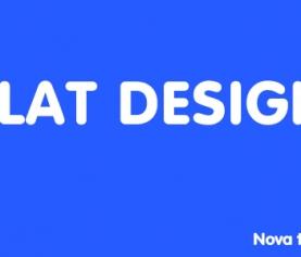 Flat Design – Nova tendência da web