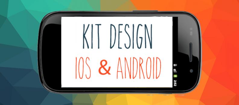 UI Kit Design para Desenvolvimento iOS e Android