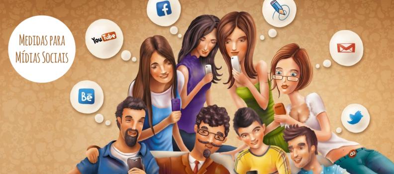Medidas para publicações nas Mídias Sociais